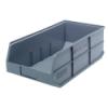 "20-1/2"" L x 11"" W x 7"" Hgt. Quantum® Gray Stackable Shelf Bin"