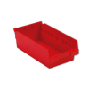 "11-5/8"" L x 6-5/8"" W x 4"" Hgt. Red Shelf Bin"