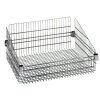 "Chrome Basket Shelves 24"" L x 18"" W x 10"" H"