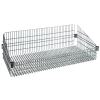 "Chrome Basket Shelves 36"" L x 24"" W x 10"" H"