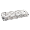 "Chrome Basket Shelves 60"" L x 24"" W x 10"" H"