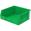"""10-7/8"""" L x 11"""" W x 5"""" H OD Green Storage Bin"""