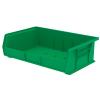 """10-7/8"""" L x 16-1/2"""" W x 5"""" H OD Green Storage Bin"""