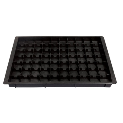 ESD Component Tray with Cell Grid