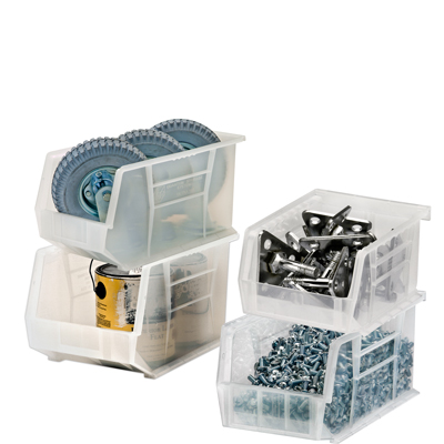 Quantum® Clear-View Ultra Series Stack & Hang Bins