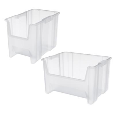 Akro-Mils® Stak-N-Store Clear Bins