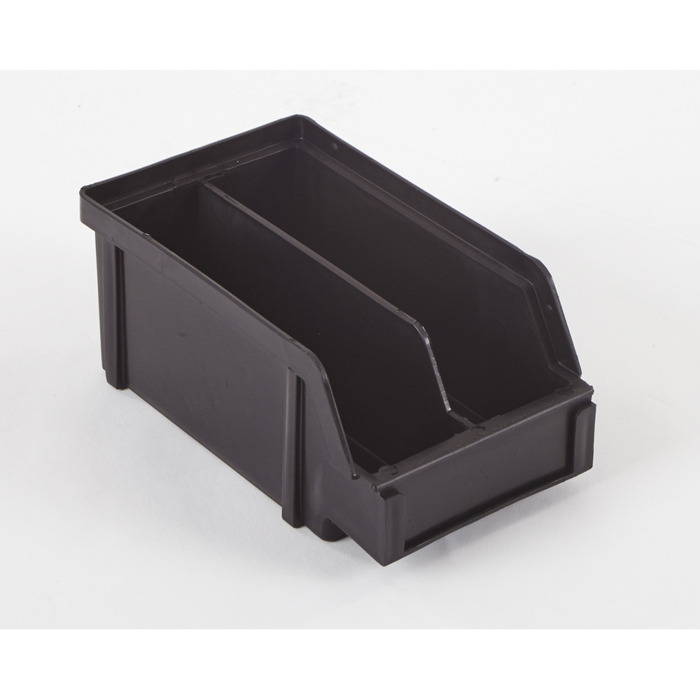"""7"""" x 4"""" x 2.9"""" ESD-Safe Parts Bin with Divider"""