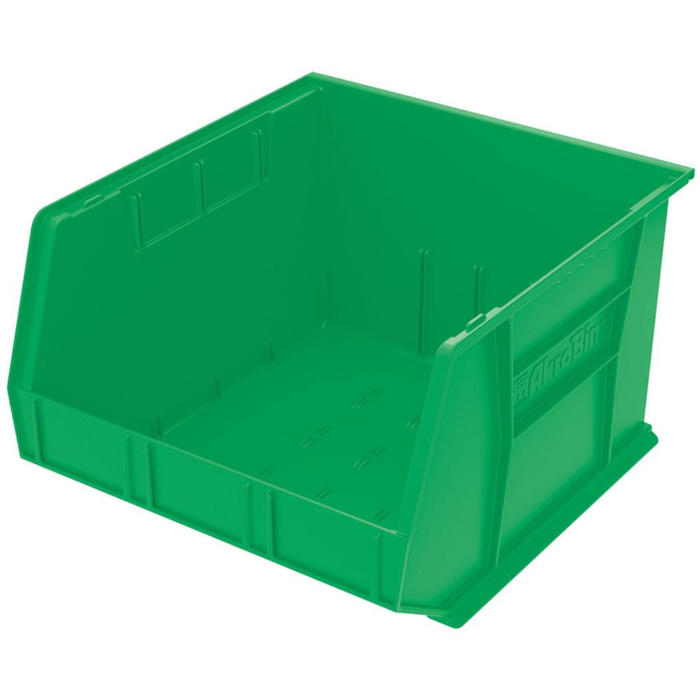 "18"" L x 16-1/2"" W x 11"" Hgt. OD Green Storage Bin"
