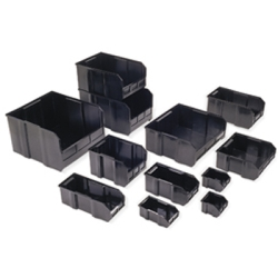 Quantum® Ultra Series Black Conductive Bins & Dividers