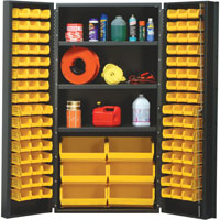 "Quantum® Heavy Duty 36"" Wide Cabinet with Adjustable Shelves"
