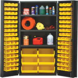 """Quantum® Heavy Duty 36"""" Wide Cabinet with Adjustable Shelves"""