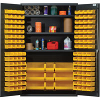 "Quantum® Heavy Duty 48"" Wide Cabinet with Adjustable Shelves"