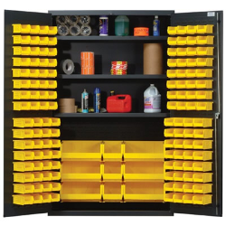 """Quantum® Heavy Duty 48"""" Wide Cabinet with Adjustable Shelves"""