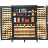 "Quantum® Heavy Duty 60"" Wide Cabinet with Adjustable Shelves"