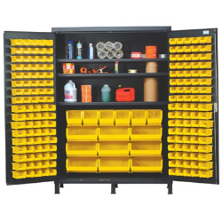 """Quantum® Heavy Duty 60"""" Wide Cabinet with Adjustable Shelves"""