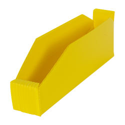 "2"" Wide Corrugated Plastic Bins for 12"" Shelving 11-3/4"" L x 2"" W x 4"" Hgt."