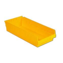 "17-7/8"" L x 8-3/8"" W x 4"" Hgt. Yellow Shelf bin"