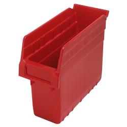 "11-5/8"" L x 4-3/8"" W x 8"" H Red Store-Max Shelf Bin"