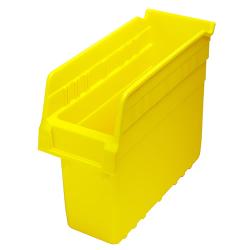"""11-5/8"""" L x 4-3/8"""" W x 8"""" H Yellow Store-Max Shelf Bin"""