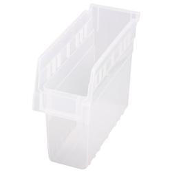 "11-5/8"" L x 4-3/8"" W x 8"" H Clear Store-Max Shelf Bin"