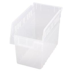 "11-5/8"" L x 6-5/8"" W x 8"" H Clear Store-Max Shelf Bin"
