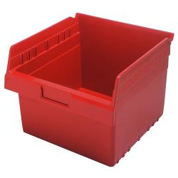 "11-5/8"" L x 11-1/8"" W x 8"" H Red Store-Max Shelf Bin"