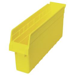 """17-7/8"""" L x 4-3/8"""" W x 8"""" H Yellow Store-Max Shelf Bin"""