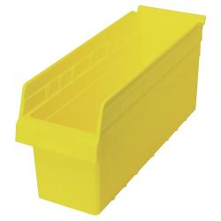 """17-7/8"""" L x 6-5/8"""" W x 8"""" H Yellow Store-Max Shelf Bin"""