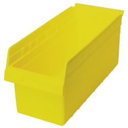 """17-7/8"""" L x 8-3/8"""" W x 8"""" H Yellow Store-Max Shelf Bin"""