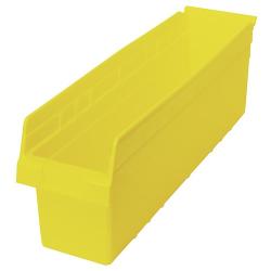 """23-5/8"""" L x 6-5/8"""" W x 8"""" H Yellow Store-Max Shelf Bin"""