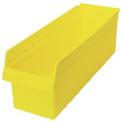 """23-5/8"""" L x 11-1/8"""" W x 8"""" H Yellow Store-Max Shelf Bin"""