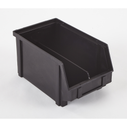 "9.5"" x 5.8"" x 5"" ESD-Safe Parts Bin with Divider"
