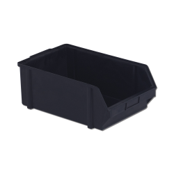 "12.8"" x 11.4"" x 6"" ESD-Safe Parts Bin with Divider"