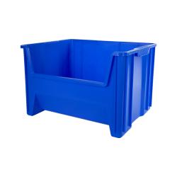 "15-1/4""L x 19-7/8""W x 12-7/16""H Akro-Mils® Blue Stak-N-Store Bin"