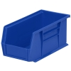 "10-7/8""L x 5-1/2""W x 5""H OD Blue Storage Bin"