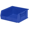 "10-7/8""L x 11""W x 5""H OD Blue Storage Bin"