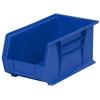 """14-3/4"""" L x 8-1/4"""" W x 7"""" Hgt. OD Blue Storage Bin"""