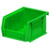 "5-3/8"" L x 4-1/8"" W x 3"" Hgt. OD Green Storage Bin"