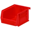 "5-3/8""L x 4-1/8""W x 3""H OD Red Storage Bin"