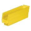 "11-5/8"" L x 2-3/4"" W x 4"" Hgt. Yellow Akro-Mils® Shelf Bin"