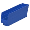 "11-5/8"" L x 2-3/4"" W x 4"" H Blue Akro-Mils® Shelf Bin"