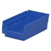 """11-5/8"""" L x 6-5/8"""" W x 4"""" Hgt. Blue Akro-Mils® Shelf Bin"""
