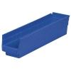 """Blue Akro-Mils® Shelf Bin - 17-7/8"""" L x 4-1/8"""" W x 4"""" Hgt."""