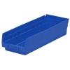"""Blue Akro-Mils® Shelf Bin - 17-7/8"""" L x 6-5/8"""" W x 4"""" Hgt."""