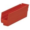 """11-5/8"""" L x 2-3/4"""" W x 4"""" Hgt. Red Akro-Mils® Shelf Bin"""