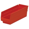 "11-5/8"" L x 4-1/8"" W x 4"" H Red Akro-Mils® Shelf Bin"