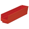 "17-7/8"" L x 4-1/8"" W x 4"" H Red Akro-Mils® Shelf Bin"