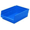"11-5/8"" L x 8-3/8""W x 4""H Blue Akro-Mils® Shelf Bin"