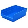 """11-5/8"""" L x 8-3/8"""" W x 4"""" Hgt. Blue Akro-Mils® Shelf Bin"""
