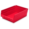 "Red Akro-Mils® Shelf Bin - 11-5/8"" L x 8-3/8"" W x 4"" Hgt."